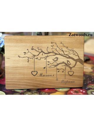 """Подарок на деревянную свадьбу - """"Ветвь"""""""