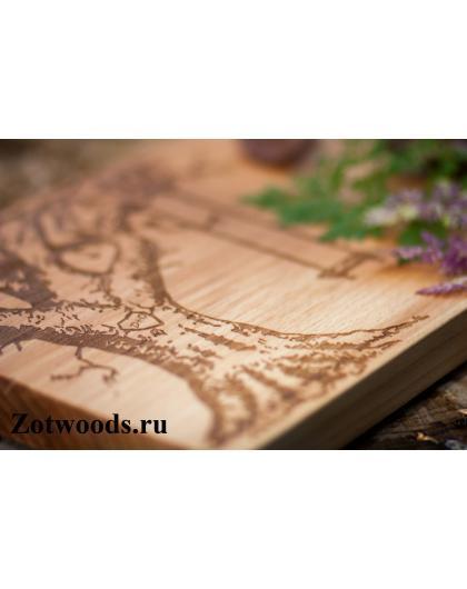 """Подарок на деревянную свадьбу - """"Дерево с качелями"""""""