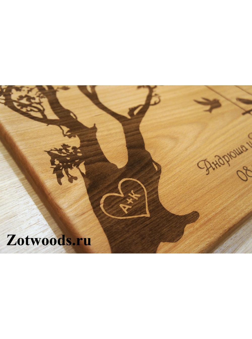 Прикольный подарок на деревянную свадьбу друзьям 75