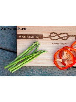 """Подарок на деревянную свадьбу - """"Узелок"""""""