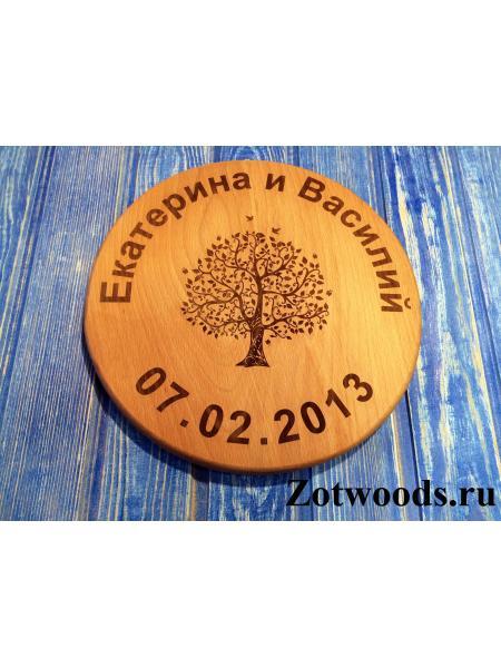 """Подарок на деревянную свадьбу - """"Семейное дерево"""""""