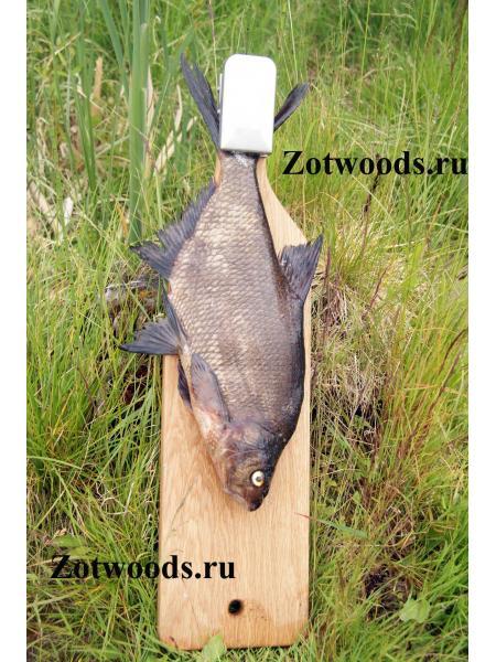 Разделочная доска для рыбы из дуба