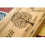 Семейные календари из дерева