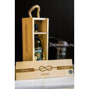 "Коробка для винной церемонии - ""Узелок"""