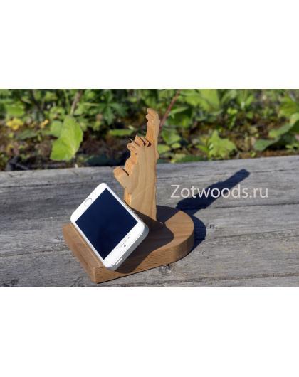 """Подставка для телефона и планшета - """" Статуя свободы"""""""