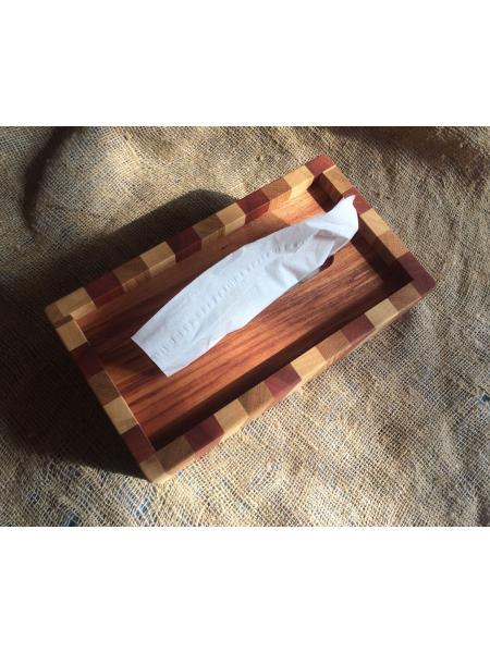 """Салфетница для большой коробки Klinex - """"Полосатая"""""""
