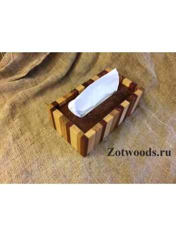 """Салфетница для большой коробки Zewa - """"Полосатая"""""""