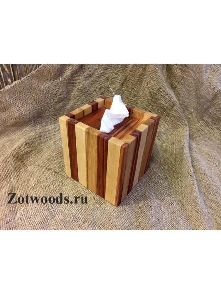"""Салфетница для маленькой коробки Zewa - """"Полосатая"""""""