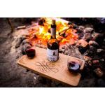 Деревянные винные столики